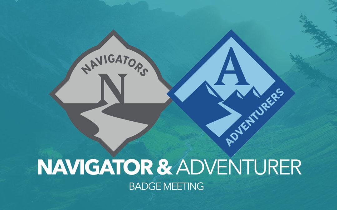 Navigator / Adventurer Meeting Only (Elective or other Badge)