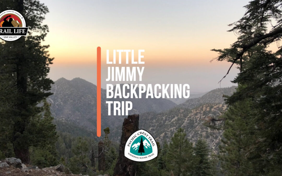 Little Jimmy Backpack trip this weekend!
