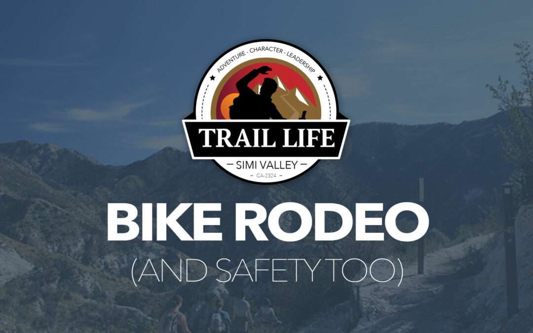 Bike Rodeo Night at Trail Life— Tuesday Night (Sept 17th)