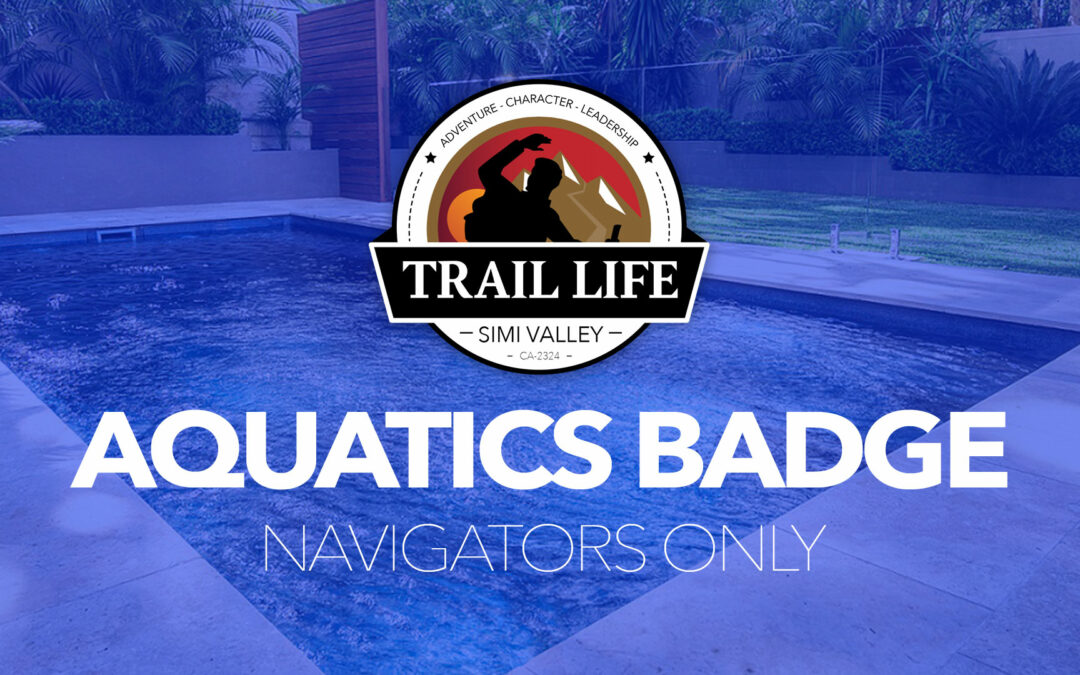 Navigators Only — Aquatics Hit the Trail Tomorrow