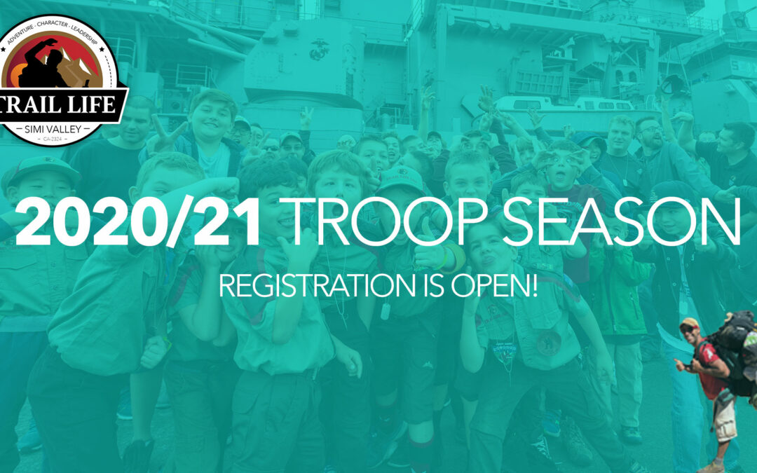 Our Troop Season is About to Begin….Join us on the Trail!